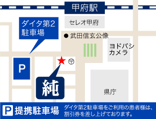 津田沼ブラン歯科・矯正歯科の地図